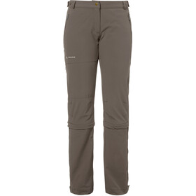 VAUDE Farley II Stretch T-Zip Capri Damen coconut